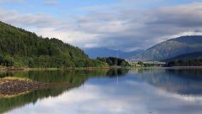 Loch Leven stock video