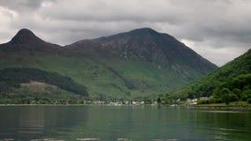Loch Leven stock footage