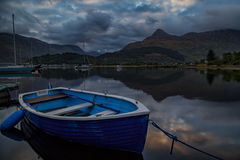 Loch Leven. Way up in the Scottish Highlands near Glencoe is Loch Leven, a beautifully tranquil place Royalty Free Stock Photography