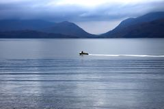 Loch Linnhe, Argyll and Bute, Scottish Highlands stock photo
