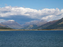 Loch Linnhe and Ben Nevis, Scotland Royalty Free Stock Photos
