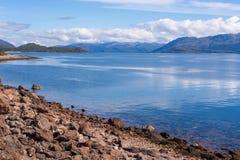 Loch Linnhe Scotland. Coastal lanscape of Loch Linnhe on west coast of Scotland Royalty Free Stock Photos