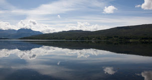 Loch Linnhe in the Scottish highlands Royalty Free Stock Images