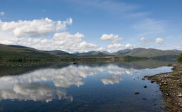 Loch Linnhe in the Scottish highlands Stock Photos