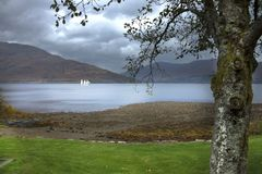 Loch Linnhe. Scottish Highlands royalty free stock photography