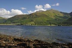 Loch Linnhe & Sgorr Dhearg Stock Photography
