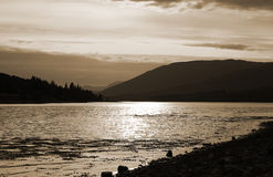 Loch Linnie Royalty Free Stock Image
