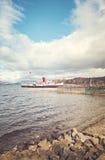 Loch Lomond明轮船 免版税库存照片