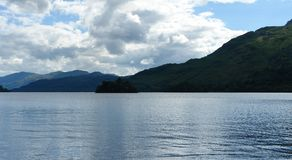 Loch Lomond海滨 免版税图库摄影