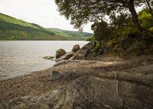 Loch Lomond视图 库存图片