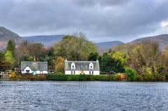 Loch Lomond, Шотландия, Великобритания Стоковые Изображения
