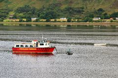 Loch Lomond, Шотландия Стоковое Изображение