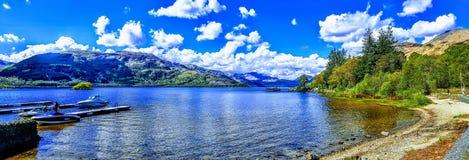 Loch Lomond fotografia de stock