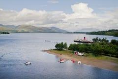 Loch Lomond Fotografering för Bildbyråer