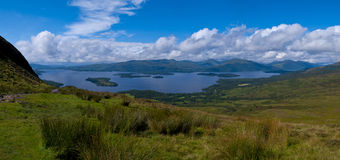 Loch Lomond Obraz Royalty Free