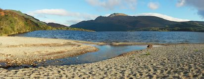 Loch Lomond Stockbilder