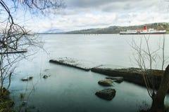 Loch Lomond Royaltyfri Fotografi