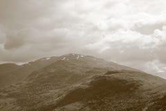Loch Lomond Ben Lorvich. Landscape of Ben Lorvich near Loch Lomond Stock Images
