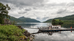 Loch Lomond cruise ship, Scotland Stock Photography