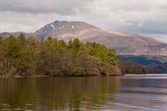 Loch Lomond e o parque nacional de Trossachs Foto de Stock Royalty Free
