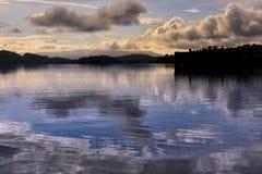 Loch Lomond en Ecosse Images stock