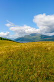 Loch Lomond et le parc national de Trossachs Images libres de droits