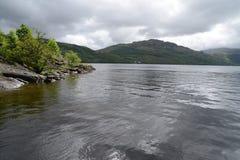Loch Lomond i Skottland arkivfoto
