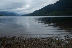 Loch Lomond kust Royaltyfria Foton