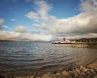 Loch Lomond landskap Arkivbilder