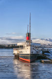 Loch Lomond Paddle Steamer Royalty Free Stock Photo