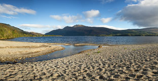 Loch Lomond pano Royalty Free Stock Images