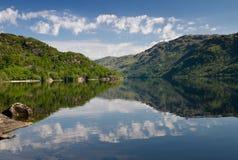 Loch Lomond reflexioner arkivbild