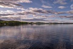Loch Lomond in Schottland Stockbild