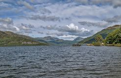 Loch Lomond in Schottland Stockfoto