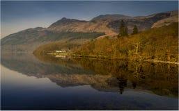 Loch Lomond-Schottland stockbilder