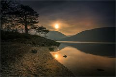 Loch Lomond-Schottland stockbild