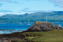 Loch Lomond Scotland zlany królestwo Europe zdjęcia royalty free