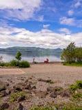 Loch Lomond, Scozia, Regno Unito Fotografia Stock Libera da Diritti