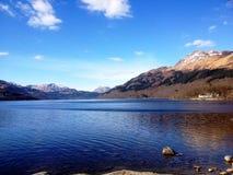 Loch Lomond Skottland Arkivbild