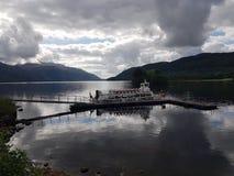 Loch Lomond skrzyżowanie zdjęcie royalty free