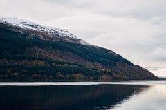 Loch Lomond, Szkocja, Zjednoczone Królestwo Obrazy Royalty Free