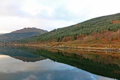 Loch Long, Scotland stock photography