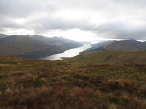 Loch longtemps, Arrochar Photos stock