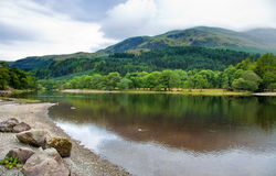 Loch Lubnaig, Ecosse Images stock