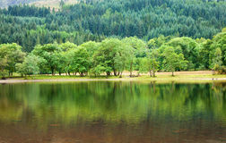 Loch Lubnaig, Ecosse Photos libres de droits