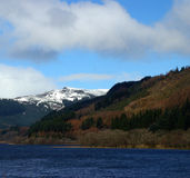Loch Lubnaig, Ecosse Photographie stock