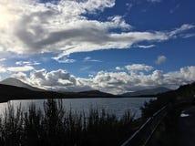 Loch Luichart Stock Afbeelding
