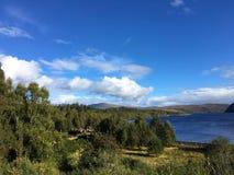 Loch Luichart Stock Foto's