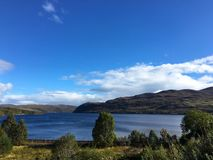 Loch Luichart Royalty-vrije Stock Foto