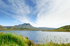 Loch Luichart, Scotland Royalty Free Stock Photo